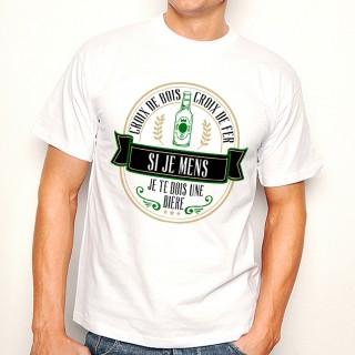 T-shirt Croix de bois Croix de fer