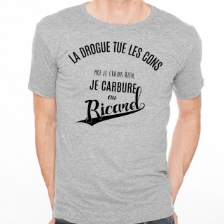 T-shirt La drogue tue les cons