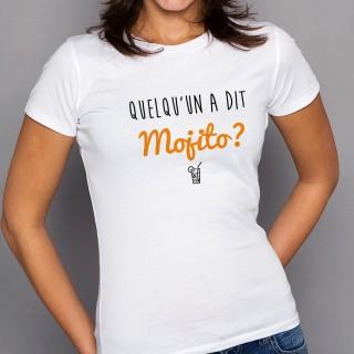T-shirt Quelqu'un a dit Mojito
