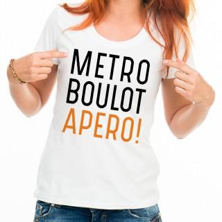 T-shirt Métro Boulot Apéro