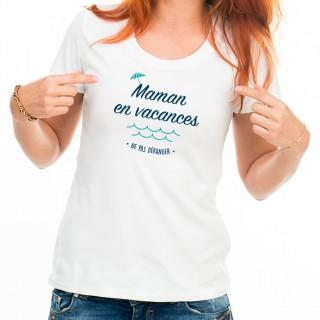 T-shirt Maman en vacances