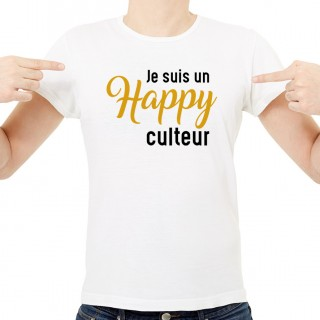 T-shirt Happy-culteur