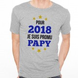 T-shirt 2018 - Promu Papy