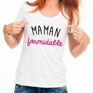 T-shirt Maman formidable