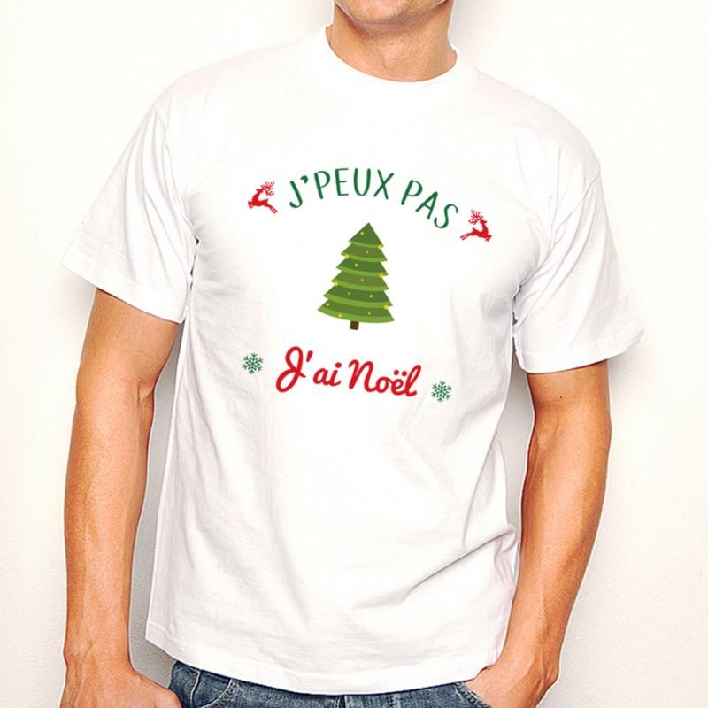 T-shirt NOEL J'peux pas... J'ai Noël