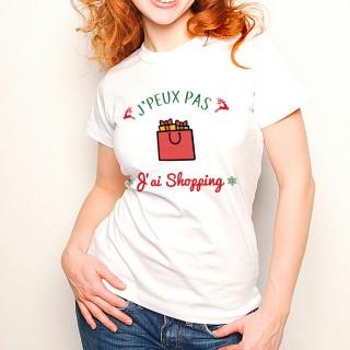 T-shirt NOEL J'peux pas... J'ai Shopping