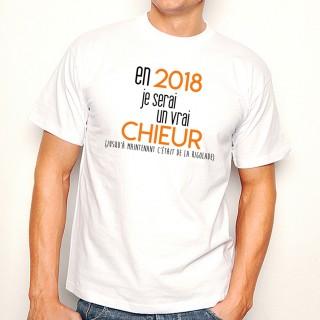 T-shirt 2018 un vrai chieur