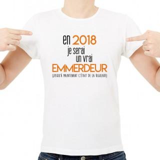 T-shirt 2018 un vrai emmerdeur