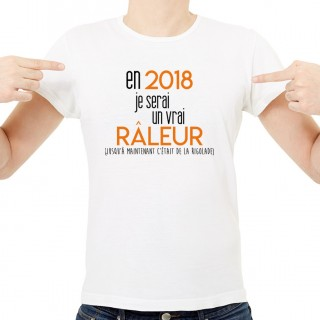 T-shirt 2018 un vrai râleur