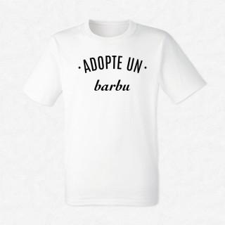 T-shirt Adopte un barbu