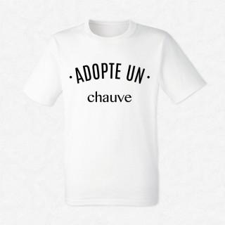 T-shirt Adopte un chauve