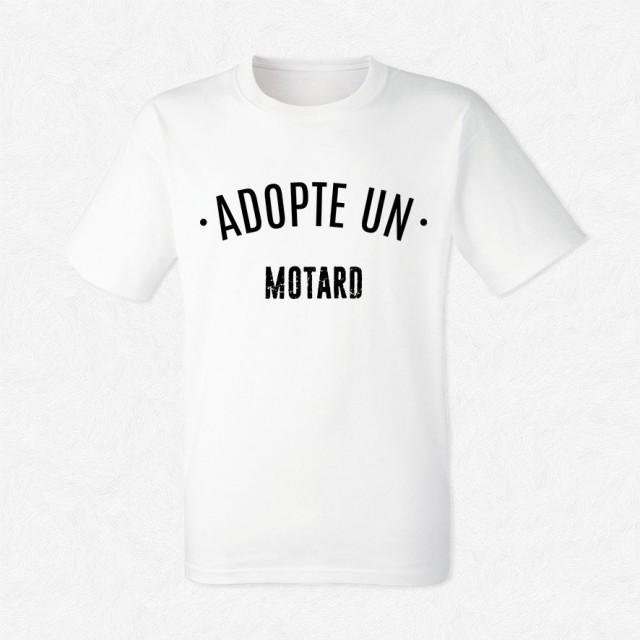 T-shirt Adopte un motard