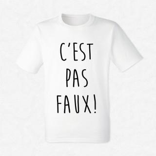 T-shirt C'est pas faux