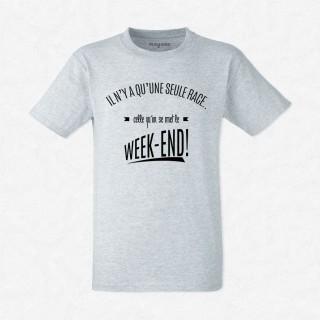 T-shirt Une seule race