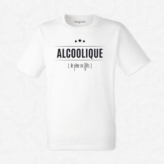 T-shirt Alcoolique...de père en fils