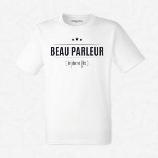 T-shirt Beau parleur...de père en fils