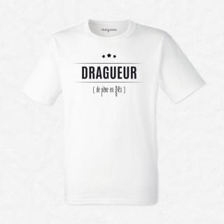 T-shirt Dragueur...de père en fils