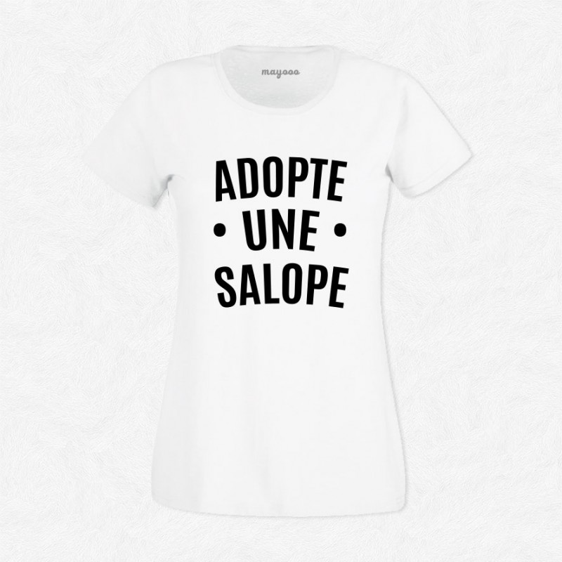 T-shirt Adopte une salope