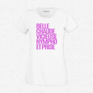 T-shirt Belle chaude