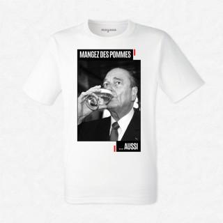 T-shirt Chirac pommes