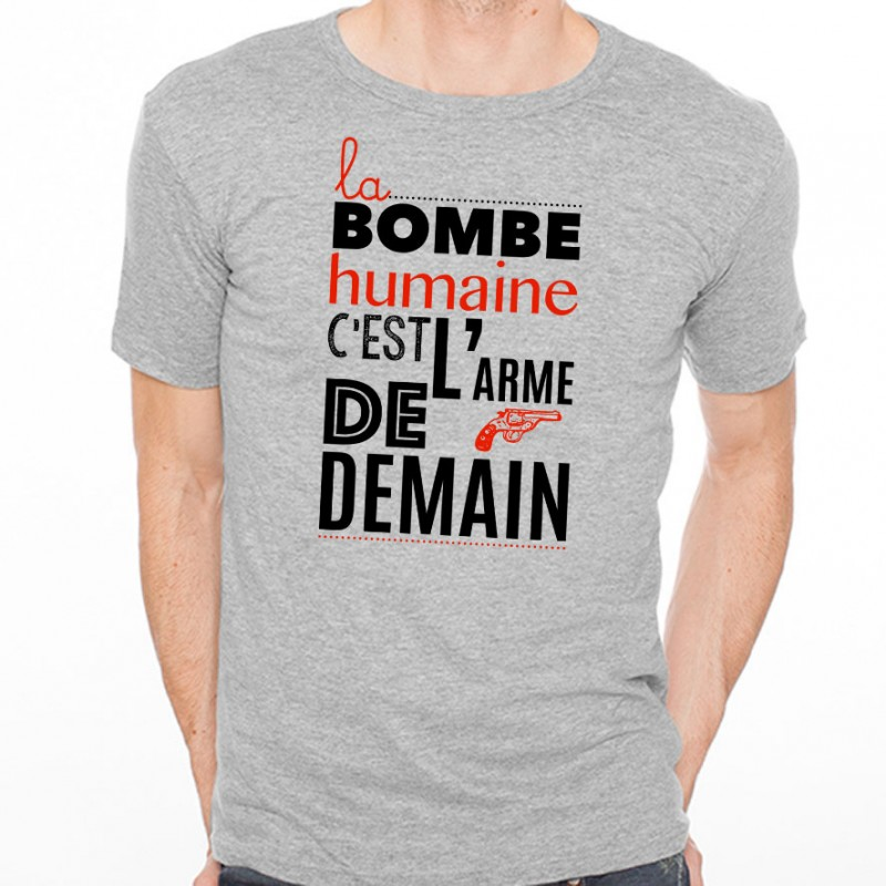 T-shirt La bombe humaine