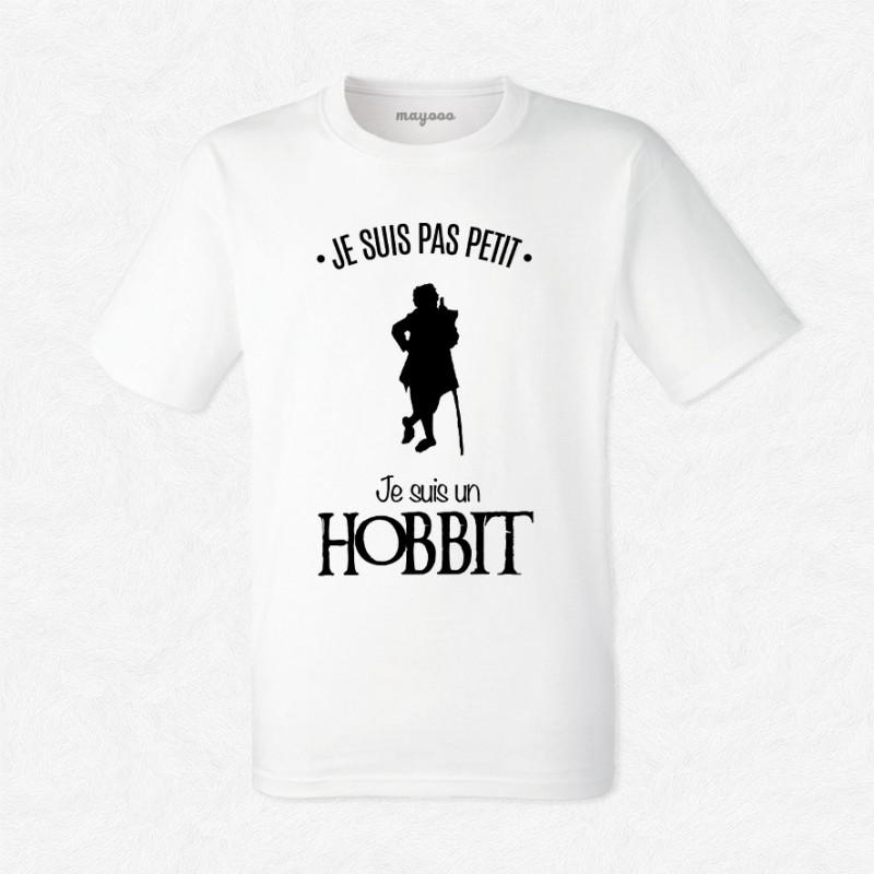 T-shirt Je suis un hobbit