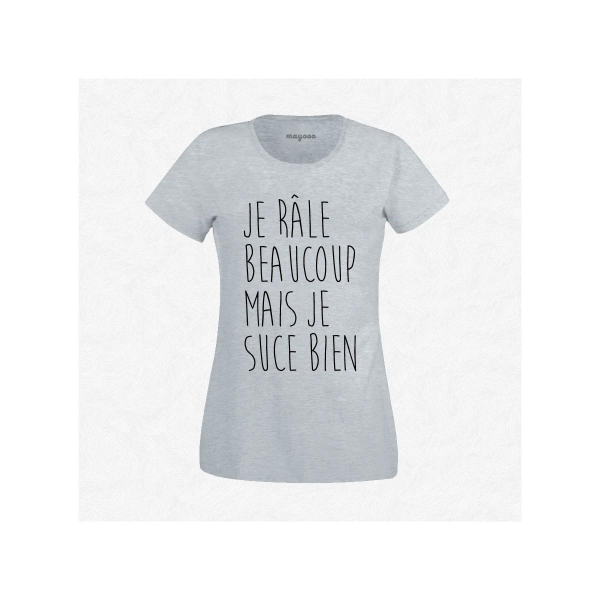 T-shirt Je râle beaucoup