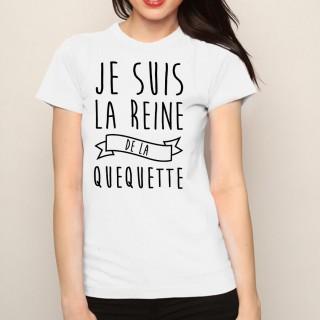 T-shirt Reine de la quequette
