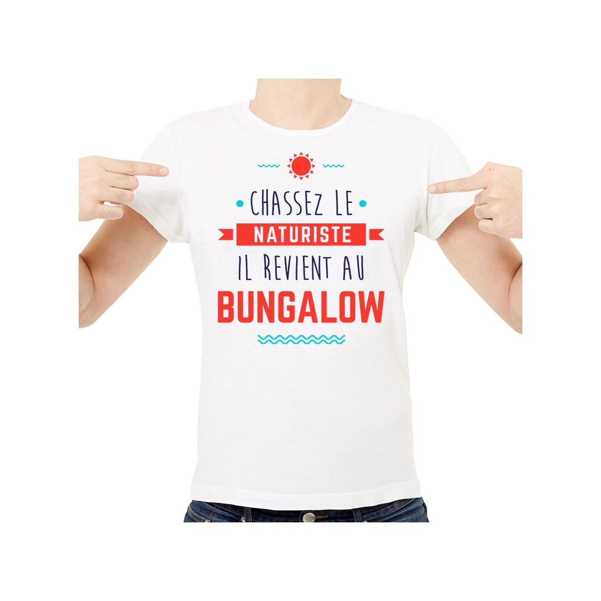 T-shirt Chassez le naturiste