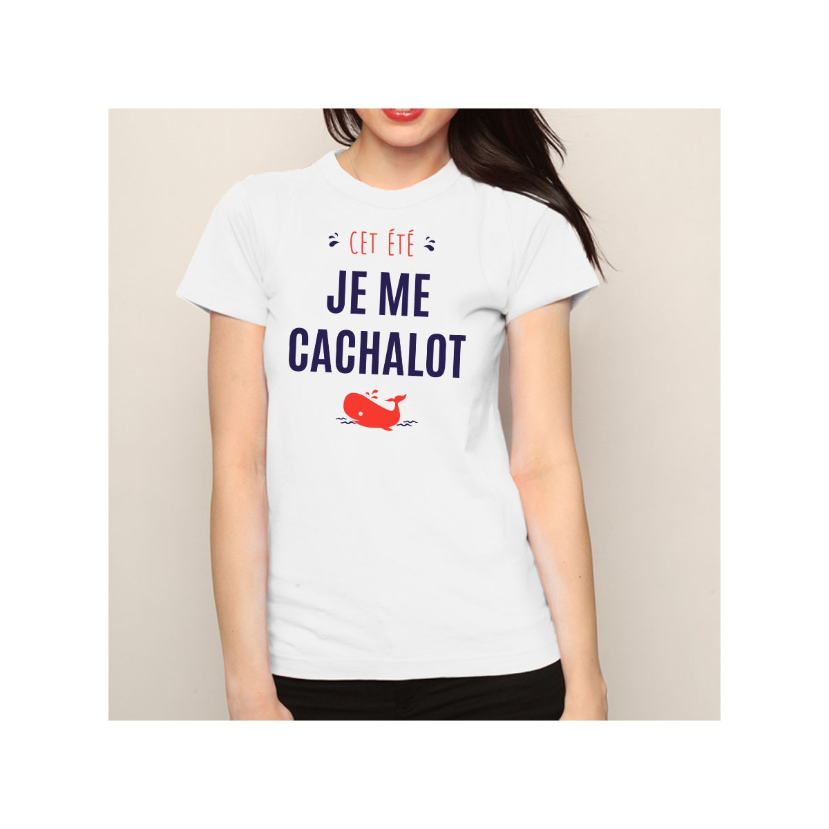 T-shirt Je me cachalot