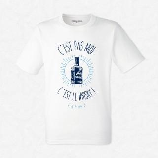 T-shirt C'est le whisky