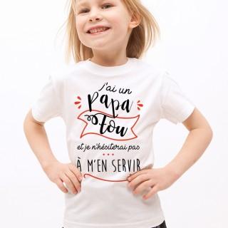 T-shirt Papa Fou