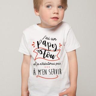 T-shirt Papy Fou