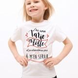 T-shirt Tatie Folle