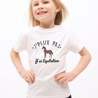 T-shirt SPORT J'peux pas j'ai Equitation