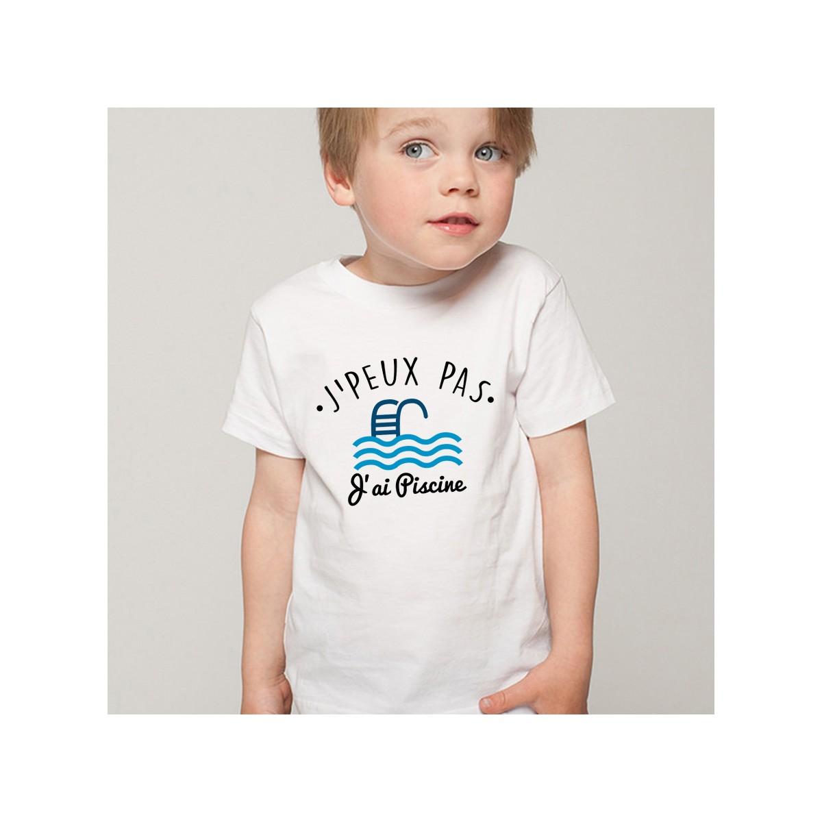 T-shirt SPORT J'peux pas j'ai Piscine