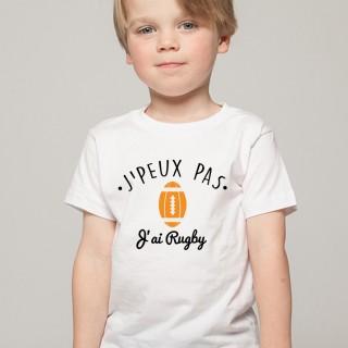 T-shirt SPORT J'peux pas j'ai Rugby