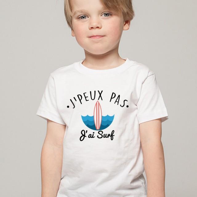 T-shirt SPORT J'peux pas j'ai Surf