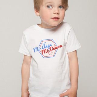 T-shirt mi-Ange mi-Démon