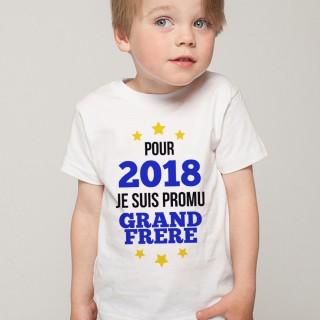 T-shirt 2018 - Promu grand Frère