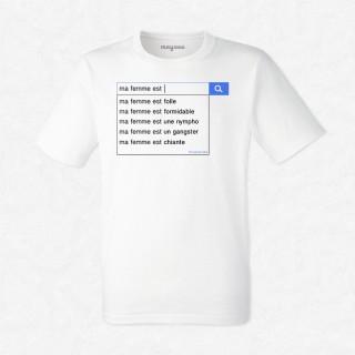 T-shirt Ma femme est...