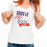 T-shirt Sous le soleil de St Trop