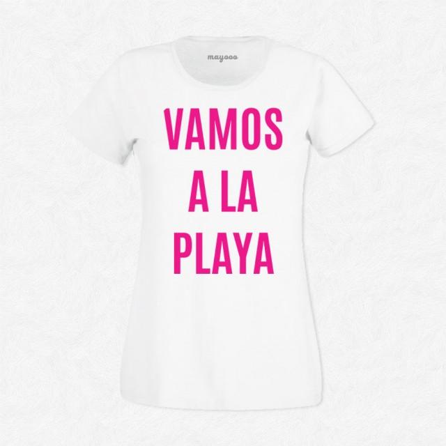 T-shirt Vamos a la playa