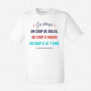 T-shirt Un coup de soleil