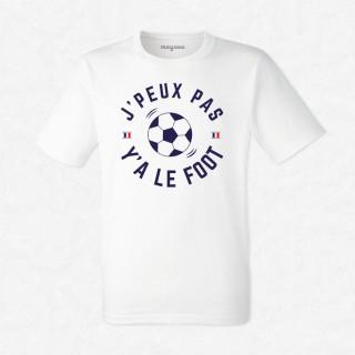 T-shirt J'peux pas y'a le foot