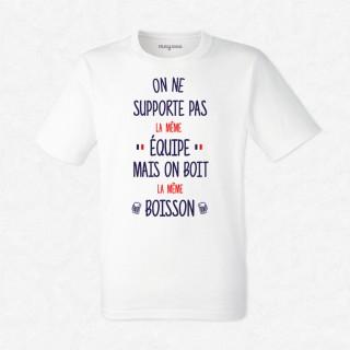 T-shirt Pas la même équipe
