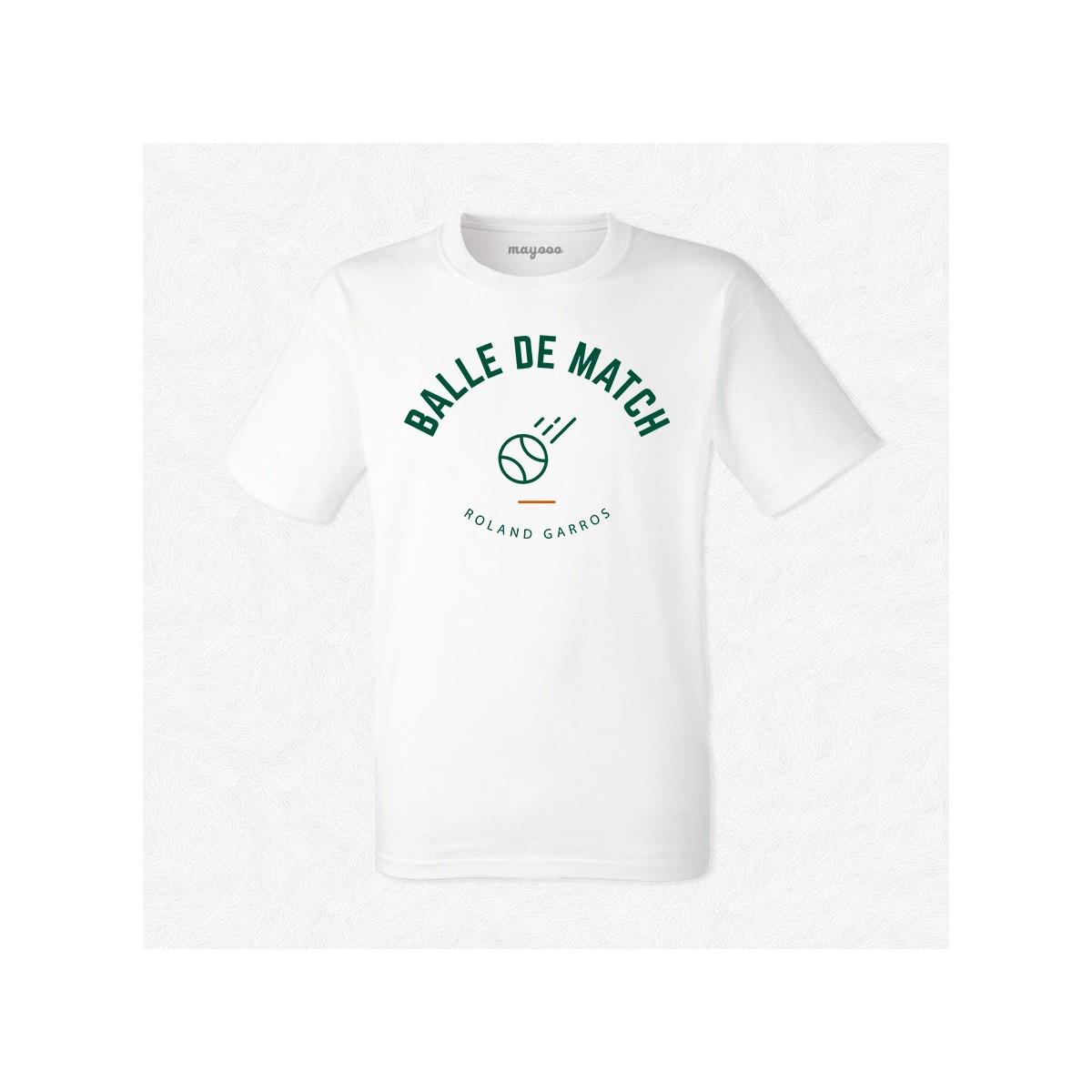 T-shirt Je suis devant le tennis