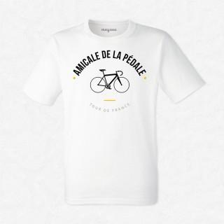 T-shirt Amicale de la pédale
