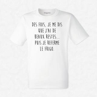 T-shirt J'ai de beaux restes