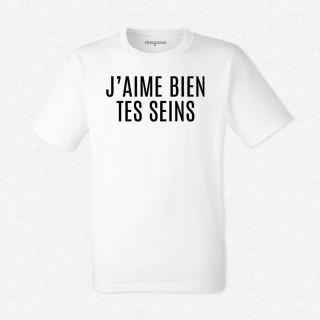 T-shirt J'aime bien tes seins